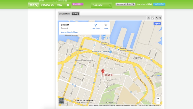 embed-google-maps-online-store