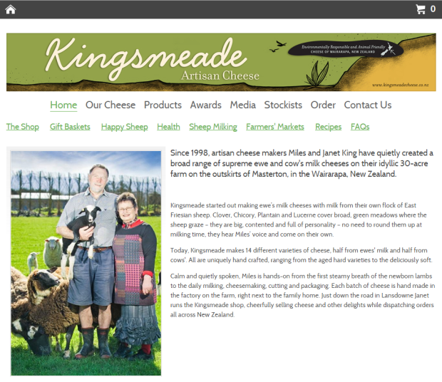 Kingsmeade Artisan Cheese About