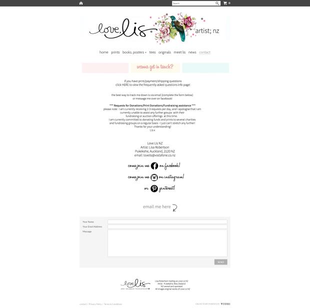 Love Lis social media links