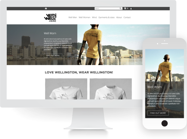 parallax-banner-online-store-website