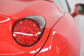 Sports Car Ferrari Red Power Auto Back Light